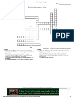 Leadership crossword puzzle