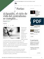 """Luis """"Balo"""" Farías_ Presidente @Jguaido, El Ciclo de Vida Del Centralismo Se Cumplió.."""