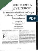 DEZALAY y THUBEK - La Reestructuracion global y el derecho (1).pdf