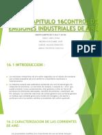 Capitulo 16 Control de Emisiones Industriales de Aire - Copia