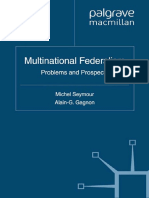 Multinational Federalism_ Problems and Prospects