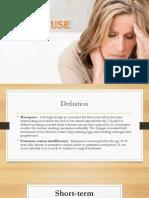 Menopause (O&G)