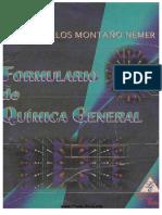 Formulario de Quimica General Montao