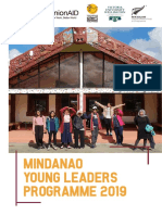 Mindanao Young Leaders Programme 2019