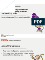 Using Speaking Assessment Criteria and Preparing Students for Speaking Tasks Jan 2018 FINAL-Davide Greene
