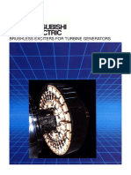 Brushless Exciters for Turbine Generators