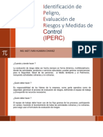 Identificación de Peligro, Evaluación de Riesgos y Medidas de Control (IPERC) ENAM