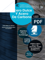 PMQR78 Knight Group Carbon and Mild Steels Brochure (Spanish)