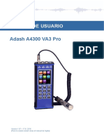 Adash A4300 VA3 Pro Manual Esp