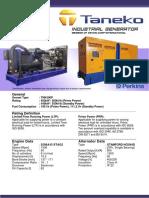 TNK500P Taneko Industrial Generator (Tnk Jkt)