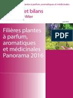 2016 Plantes à parfum, aromatiques et médic