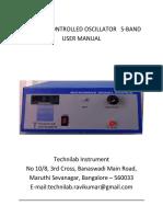 User Manual VCO