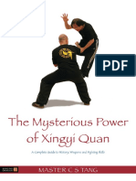 the misterious power of xingyi quan