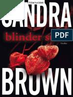 Blinder Stolz_ Thriller (German - Brown, Sandra