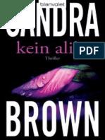 Kein Alibi_ Roman (German Editi - Brown, Sandra