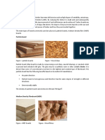 Timber Boards Used in Construction Industry