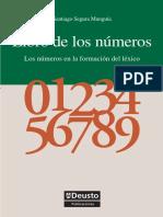 Libro de Los n Meros Los n Meros en La Formaci n Del l Xico