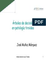 Árboles de Decisión en enfermedades de Tiroides