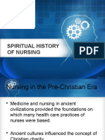 2. Spiritual History of Nursing
