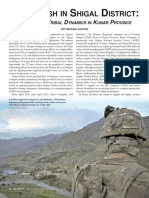 An Ambush in Shigal District - Tactics and Tribal Dynamics in Kunar Province
