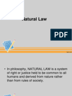 5. Natural Law