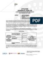 Citacion Audiencia Cundinamarca Ambiental Filosofia Informtica Quimica