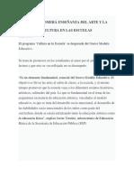 Clasificación de Las Artes (1)