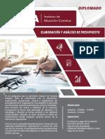 Analisis Presupiesto Manual