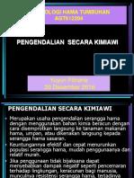 3. Pengendalian kimia