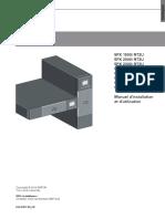 Eaton 5PX - Manuel d'Installation Et d'Utilisation
