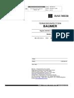 Esquema Termodesinfectora Baumer
