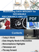 Data Integrity - May 18