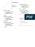 formulario combinatoria