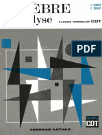 Lebossé C., Hémery C.-algèbre Et Analyse. Classes Terminales C, D Et T-Fernand Nathan(1967)