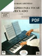Metodo Rapido Para Tocar Teclado - Vol-1 Mario Mascarenhas