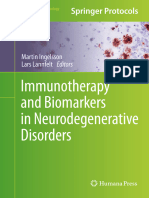 12Immunotherapy and Biomarkers in Neurodegenerative Disorders