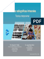 Técnicas radiográficas intraorales