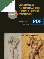 Proporções No Deseho de Michelangelo-Desenho Acadêmico-Galber Rocha