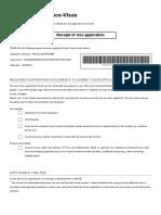 Visa Check List