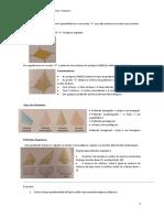 Matemática 6º Ano Módulo III- Sólidos Geometricos. Volumes (Piramides e Relação de Euler Cones e Cilindros)