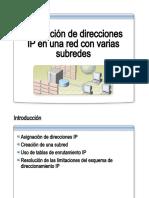 23.- Asignacion de Direcciones IP en Una Red Con Varias Subredes