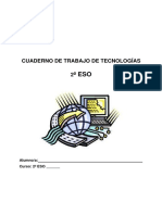 Cuadernillo para Septiembre Tecnología 2º eso