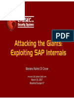 Exploiting SAP - CYBSEC