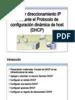 28.- Asignar Direccionamiento IP Mediante DHCP