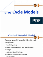 4. Lecture 4Final Life Cycle Models
