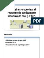 29.- Administrar y Supervisar DHCP
