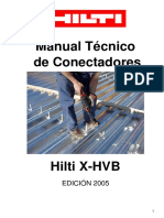 manual de conectores HILTI
