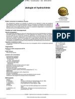 Hydrogéologie Et Hydrochimie