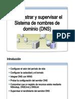 31.- Administrar y Supervisar DNS