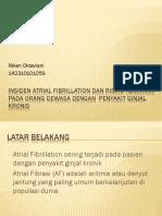 Insiden Atrial Fibrillation Dan Risiko Kematian Pada Orang
